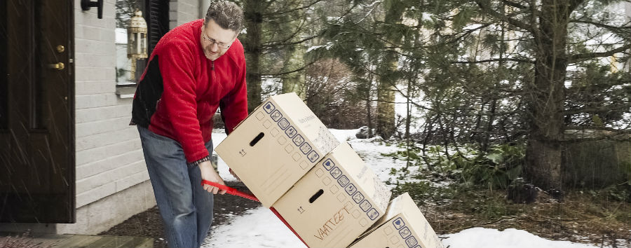 Here are some tips for moving during the winter