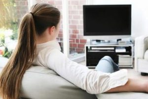 Woman-Watching-Tv